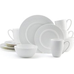 Mikasa Ortley Bone China 16-Piece Dinnerware Set (Service for 4) found on Bargain Bro India from Overstock for $99.99