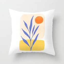 Couch Throw Pillow   Nature's Balance by Modern Tropical - Cover (16