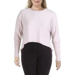 Splendid Womens Pullover Top Knot Back Yoga (Oatmeal - XL), Women's(knit) found on Bargain Bro from Overstock for USD $14.36