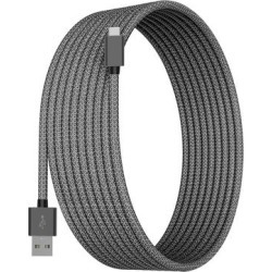 Tech Zebra Type-C Cables Gray - Gray 10' USB Type-C Charging Cable found on Bargain Bro from zulily.com for USD $7.21