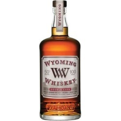 Wyoming Whiskey Bourbon Double Cask 750ml found on Bargain Bro India from WineChateau.com for $74.97