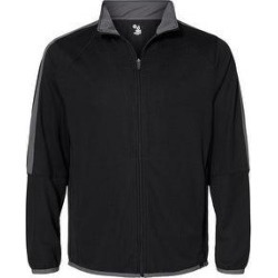 Blitz Outer-Core Jacket (Black/ Graphite - 2XL), Men's, Black/ Grey(polyester) found on MODAPINS from Overstock for USD $65.50