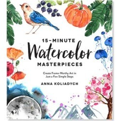 Macmillan Entertainment Books - 15-Minute Watercolor Masterpieces Paperback found on Bargain Bro India from zulily.com for $13.44