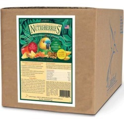 Lafeber's Tropical Fruit Nutri-Berries Parrot Food, 20 lbs. found on Bargain Bro Philippines from petco.com for $139.99