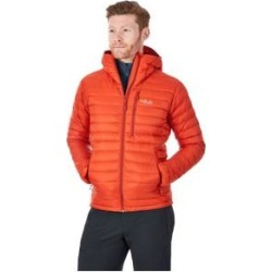 Rab Casual Down Jackets Microlight Alpine Jacket - Men's Firecracker/Red Clay Large found on MODAPINS from campsaver.com for USD $163.80