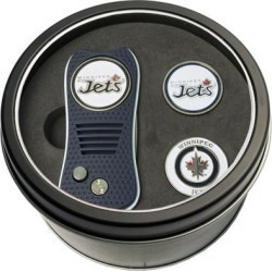 Winnipeg Jets Divot Tool & Ball Markers Personalized Tin Gift Set found on Bargain Bro India from Fanatics for $29.99