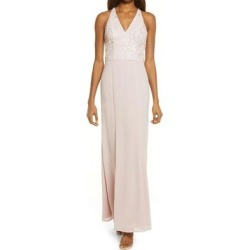 Sleeveless Lace Bridesmaid Dress - Pink - Chi Chi London Dresses found on MODAPINS from lyst.com for USD $150.00