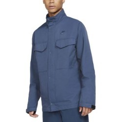 Sportswear Woven M65 Jacket - Blue - Nike Jackets found on Bargain Bro from lyst.com for USD $76.00