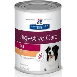 Hill's Prescription Diet i/d Digestive Care with Turkey Canned Dog Food, 13-oz, case of 12 found on Bargain Bro from Chewy.com for USD $30.39