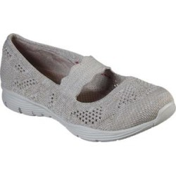 Skechers Women's Sneakers TPE - Taupe Seager Pitch Out Slip-On Sneaker found on Bargain Bro India from zulily.com for $59.99