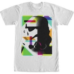 Fifth Sun Men's Tee Shirts WHITE - White Geometric Stormtrooper Crewneck Tee - Men found on Bargain Bro India from zulily.com for $15.99