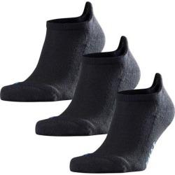 3-pack Cool Kick Tab Socks, Black - Black - Falke Underwear found on MODAPINS from lyst.com for USD $54.00