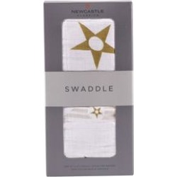 Stars and Stripes Cotton Swaddle - Newcastle Classics 439