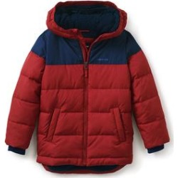 Boys ThermoPlume Fleece Lined Parka - Lands' End - Red - L found on Bargain Bro from landsend.com for USD $47.86