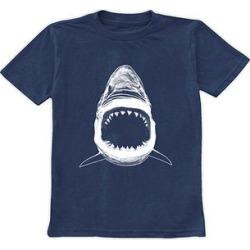 Urban Smalls Boys' Tee Shirts Heather - Heather Navy Shark Tee - Toddler & Boys found on Bargain Bro from zulily.com for USD $9.11