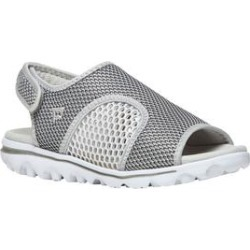 Women's TravelActiv SS Sneakers by Propet in Silver Black (Size 12 M) found on Bargain Bro Philippines from Woman Within for $54.99