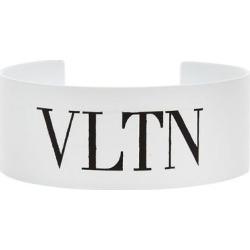 Medium Logo Cuff Bracelet - Metallic - Valentino Garavani Bracelets found on Bargain Bro from lyst.com for USD $152.00