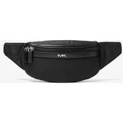 Michael Kors Kent Logo Tape Nylon Gabardine Belt Bag Black One Size found on Bargain Bro Philippines from Michael Kors for $99.00