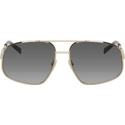 Gold Gv 7193 Sunglasses - Metallic - Givenchy Sunglasses found on Bargain Bro India from lyst.com for $605.00