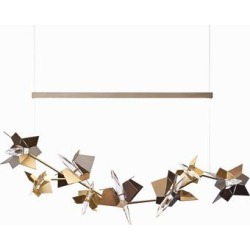 Hubbardton Forge Belladonna 50 Inch LED Linear Suspension Light - 139813-1006 found on Bargain Bro from Capitol Lighting for USD $2,424.40