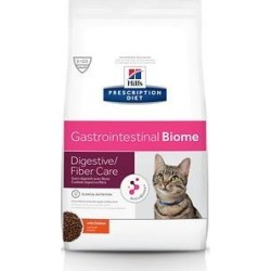 Hill's Prescription Diet Gastrointestinal Biome Digestive/Fiber Care with Chicken Dry Cat Food, 8.5-lb bag found on Bargain Bro from Chewy.com for USD $38.75