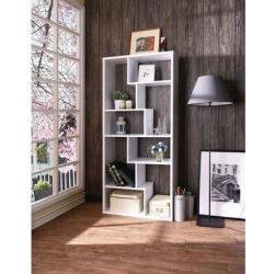 Latitude Run® ACME Mileta II Bookshelf In92356 in White, Size 71.0 H x 32.0 W x 12.0 D in | Wayfair BAA862F7675242BB93612A0E921DCB1F found on Bargain Bro Philippines from Wayfair for $609.99
