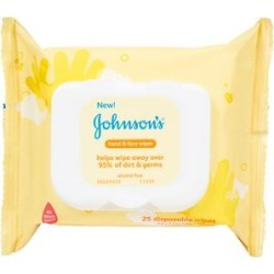 JOHNSONS Cleansers & Facial Wipes - Johnson's 25-Ct. Hand & Face Wipes - Set of Four found on MODAPINS from zulily.com for USD $12.79