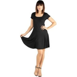 24seven Comfort Apparel Knee Length Maternity T-Shirt Dress found on Bargain Bro Philippines from Overstock for $42.98