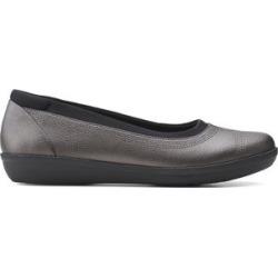 Clarks Women's Ballet Flats Dark - Dark Pewter Ayla Low Flat - Women found on Bargain Bro from zulily.com for USD $22.79