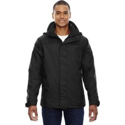 3-In-1 Men's Black 703 Jacket (L)(polyester) found on Bargain Bro Philippines from Overstock for $87.49