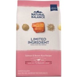Natural Balance L.I.D. Limited Ingredient Diets Salmon & Brown Rice Formula Dry Dog Food, 12-lb bag found on Bargain Bro Philippines from Chewy.com for $28.49