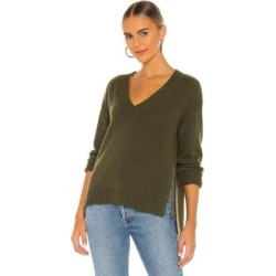 David V Neck Sweater - Green - Lovers + Friends Knitwear found on Bargain Bro India from lyst.com for $51.00