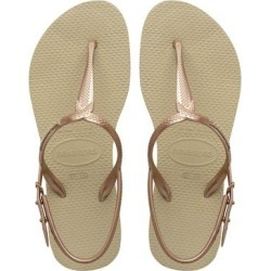 Havaianas Women's Sandals SAND - Sand Gray Twist Sandal - Women found on MODAPINS from zulily.com for USD $11.93
