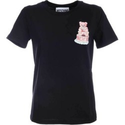 Cake Teddy Bear T-shirt - Black - Moschino Tops found on MODAPINS from lyst.com for USD $150.00