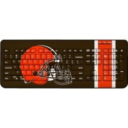 Cleveland Browns Stripe Wireless Keyboard found on Bargain Bro from nflshop.com for USD $45.59