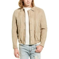 Iro Bright Suede Jacket found on MODAPINS from Overstock for USD $591.74