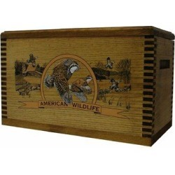 Evans Sports Wooden Accessory Box w/