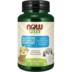 NOW Pets Weight Management Dog Supplement, 90 count found on Bargain Bro Philippines from Chewy.com for $15.71