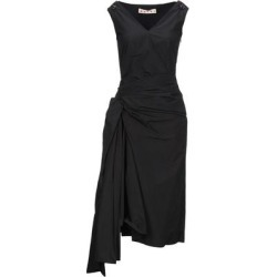 3/4 Length Dress - Black - Marni Dresses found on MODAPINS from lyst.com for USD $392.00