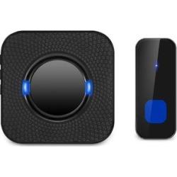 iMounTEK Doorbells & Knockers Black - Black Wireless Doorbell found on Bargain Bro Philippines from zulily.com for $16.29