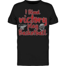 I Bleed Victory Play Basketball Tee Men's -Image by Shutterstock (3XL), Black