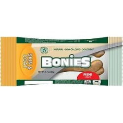 BONIES Skin & Coat Formula Mini Dog Treats, 2 count found on Bargain Bro from Chewy.com for $0.79