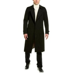 Burberry The Long Heritage Trench Coat (52), Men's, Black(cotton) found on MODAPINS from Overstock for USD $1869.99