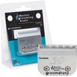 Master Grooming Tools GroomSharp Ceramic Pet Grooming Blade, Size 30