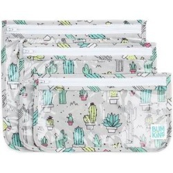 Bumkins Car Seat Travel Bags Cacti - Clear Cacti Travel Bag - Set of Three found on Bargain Bro Philippines from zulily.com for $11.99