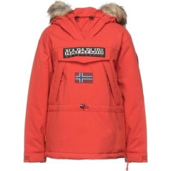 Jacket - Red - Napapijri Coats found on MODAPINS from lyst.com for USD $371.00