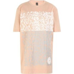 T-shirt - Pink - Adidas By Stella McCartney Tops found on Bargain Bro from lyst.com for USD $52.44