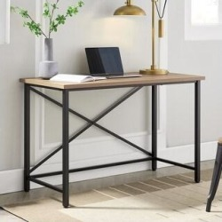 Martina Desk (Black with Golden Oak) found on Bargain Bro Philippines from Overstock for $171.49