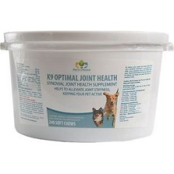 Pet's Choice Pharmaceuticals K9 Optimal Joint Health Soft Chew Dog Supplement, 240 count found on Bargain Bro India from Chewy.com for $45.91