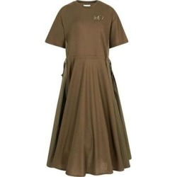 Dress - Green - Moncler Dresses found on Bargain Bro Philippines from lyst.com for $750.00